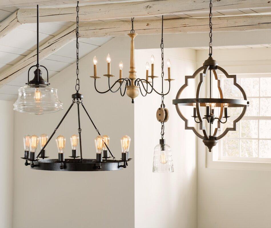 Birch lane bennington candle style chandelier reviews for Wayfair store