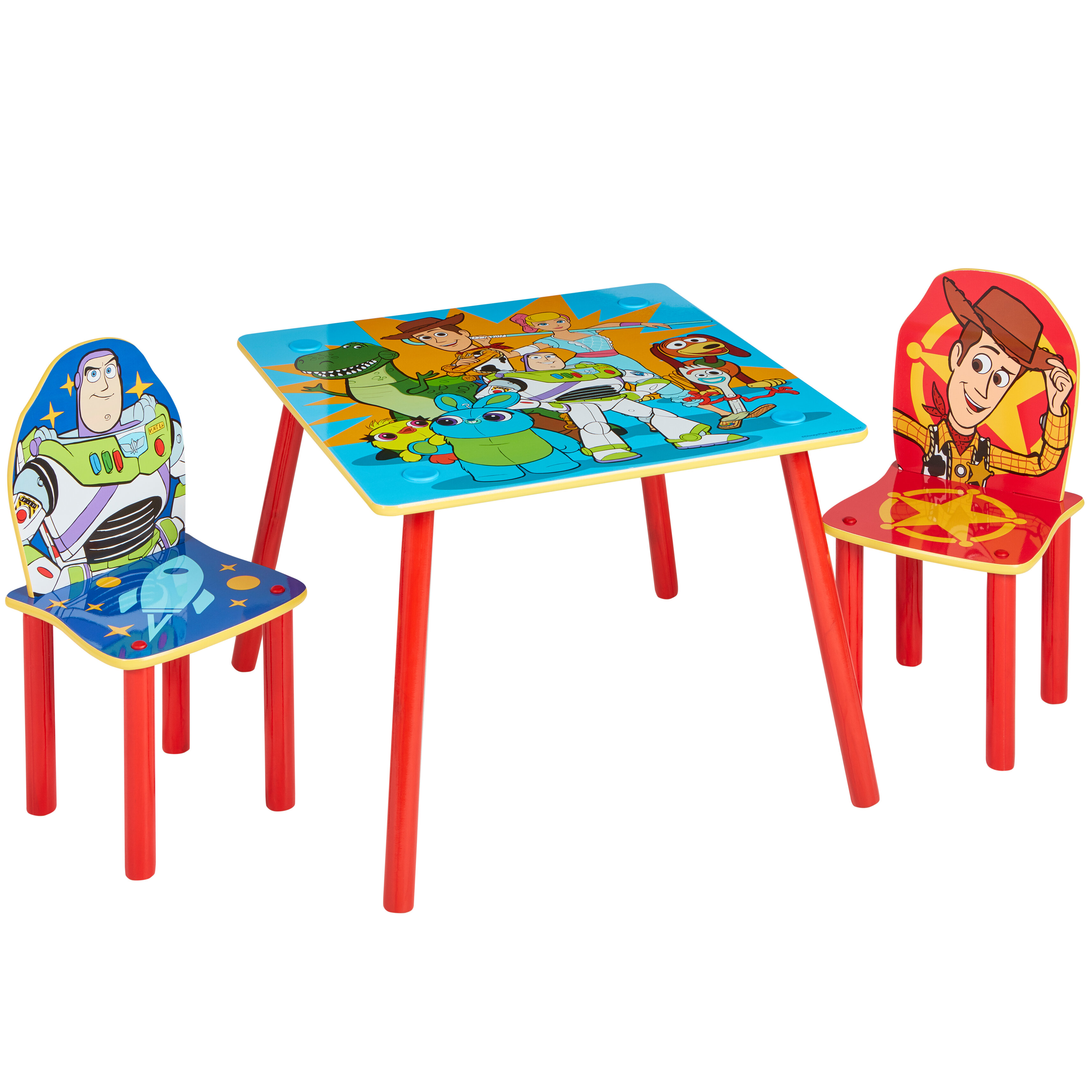 - Disney Pixar Disney Toy Story Children's 3 Piece Table And Chair
