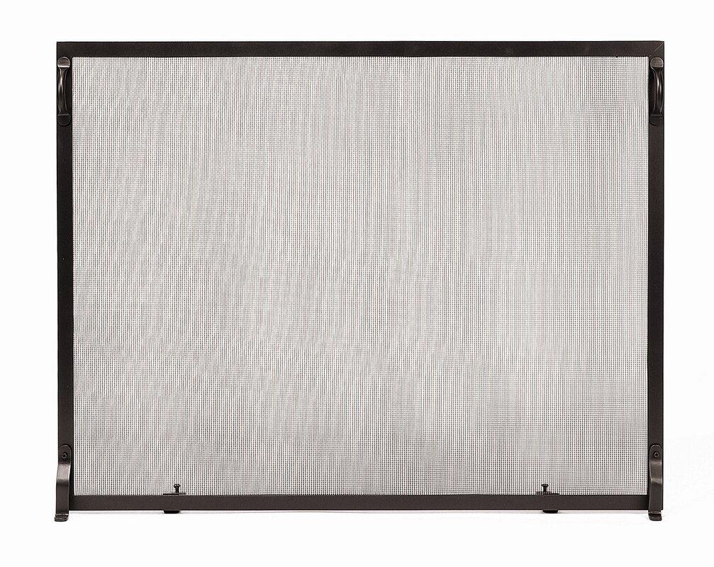 minuteman colonial wrought iron fireplace screen u0026 reviews wayfair
