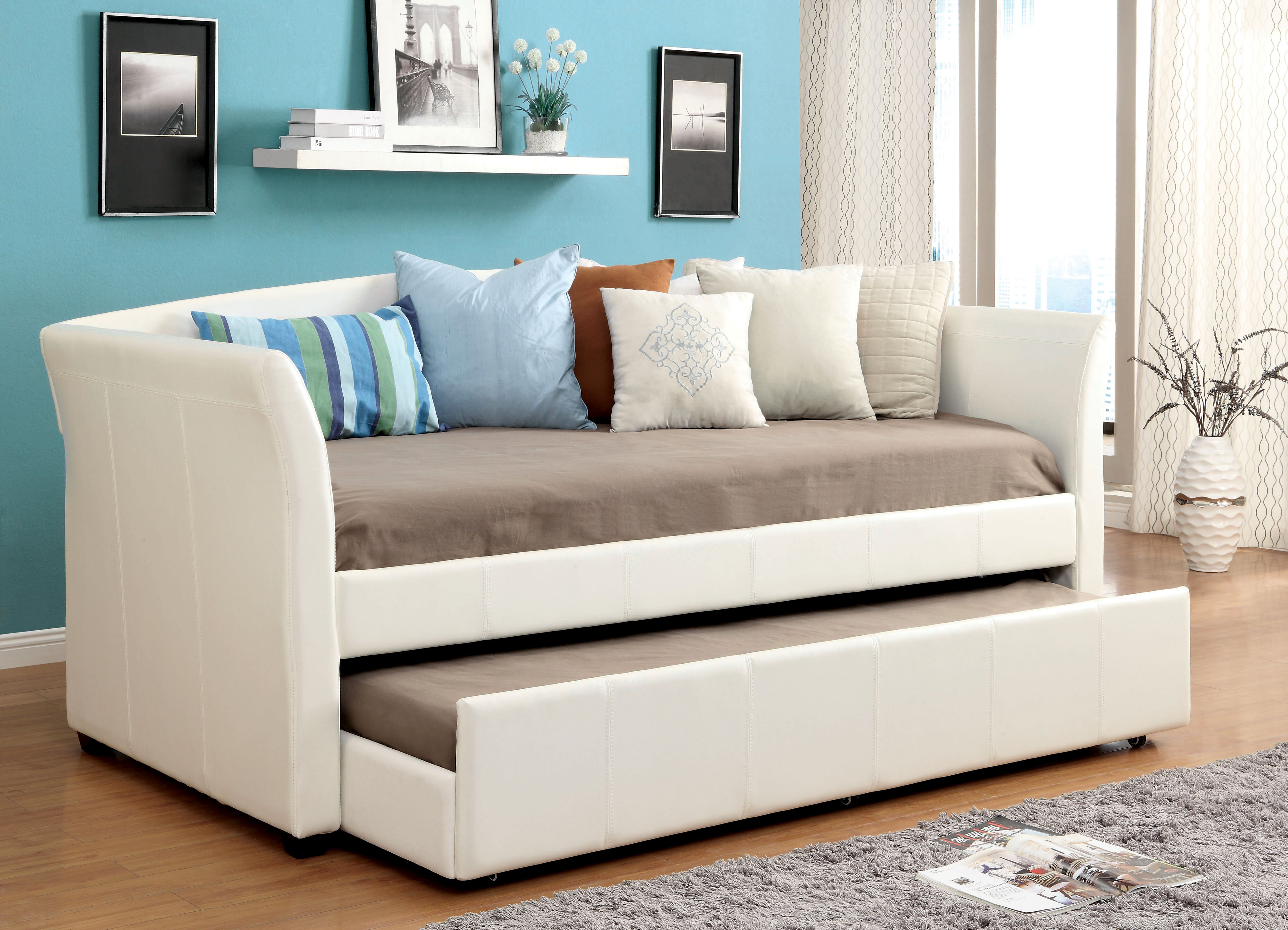 Roma Daybed With Trundle Reviews Birch Lane