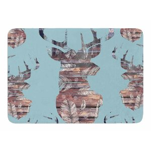 Wild And Free by Suzanne Carter Bath Mat