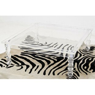 Beau Lucite Beverly Hills Coffee Table