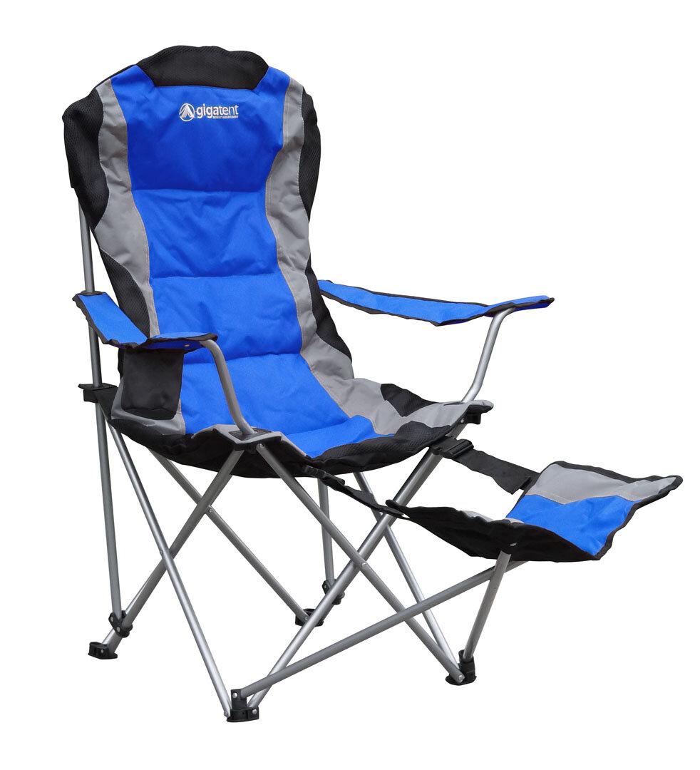sc 1 st  Wayfair & GigaTent Folding Camping Chair with Footrest u0026 Reviews | Wayfair