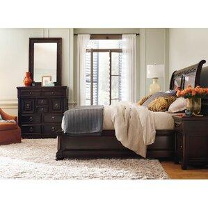 Pacific Canyon Sleigh Configurable Bedroom Set