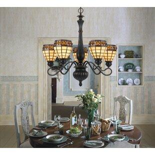 maddy 5 light chandelier - Orb Chandelier Dining Room