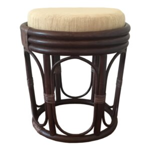 Rattan Wicker Home Furniture Romeo Rattan Ottoman Image