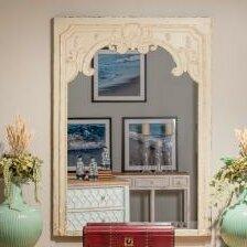Antique French Floor Mirror | Wayfair