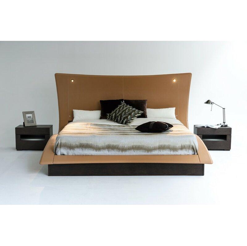 Camron King Upholstered Platform Bed