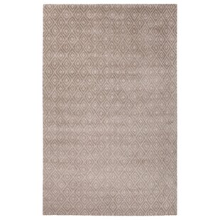 Read Reviews Bruce Hand-Tufted Ivory/White Area Rug By Orren Ellis
