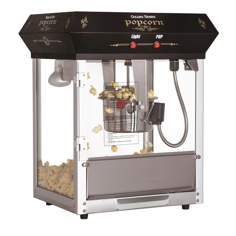 GameRoomDepot 4 Oz  Golden Popcorn Machine