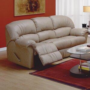 Palliser Furniture Callahan Leather Reclining Sofa