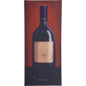 Bordeaux Print on Wrapped Canvas