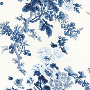 Floral botanical wallpaper youll love wayfair quickview mightylinksfo