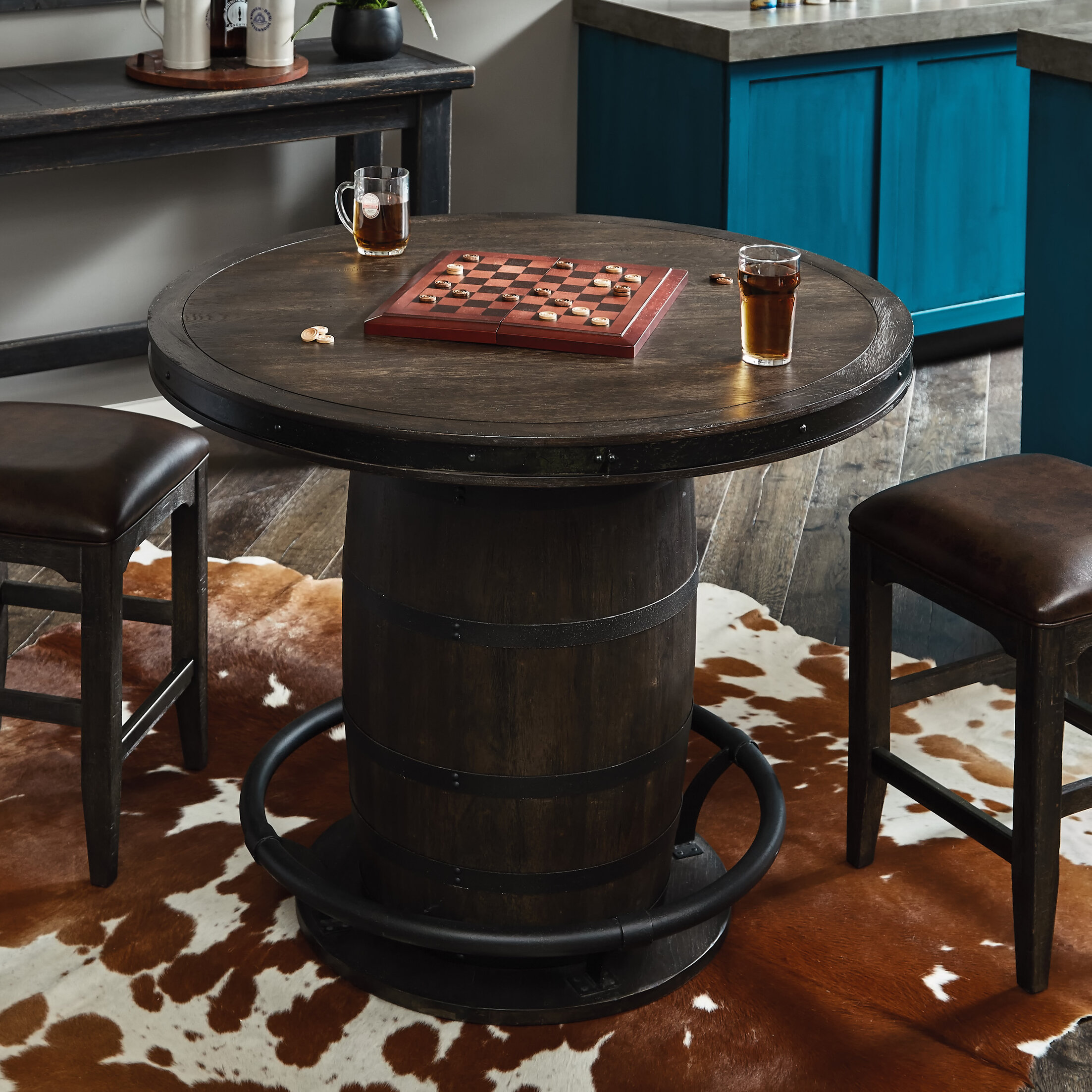 Wine Barrel Bistro Table Wayfair