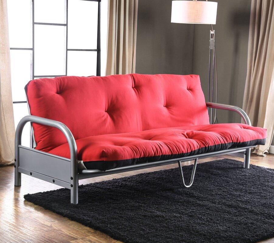 erdenheim 6   full size futon mattress red barrel studio erdenheim 6   full size futon mattress  u0026 reviews      rh   wayfair