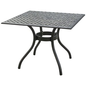 Thomasson Aluminum Square Table