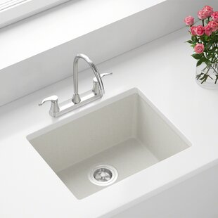 Undermount White Kitchen Sinks You'll | Wayfair on white overmount kitchen sink, white porcelain kitchen sink, white marble kitchen sink, rectangle undermount bathroom sink, small white kitchen sink, bisque undermount sink, cast iron porcelain kitchen sink, copper corner kitchen sink, white steel kitchen sinks, white subway tile kitchen, white kitchen with farmers sink, laminate counter with undermount sink, composite granite undermount sink, white single kitchen sink, rohl allia fireclay kitchen sink, elkay undermount double sink, 12-inch drop in sink, white kitchens with corian countertops, used farmhouse kitchen sink, single bowl offset kitchen sink,