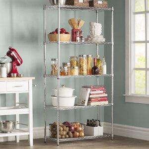Wayfair Basics 5 Shelf Shelving Unit