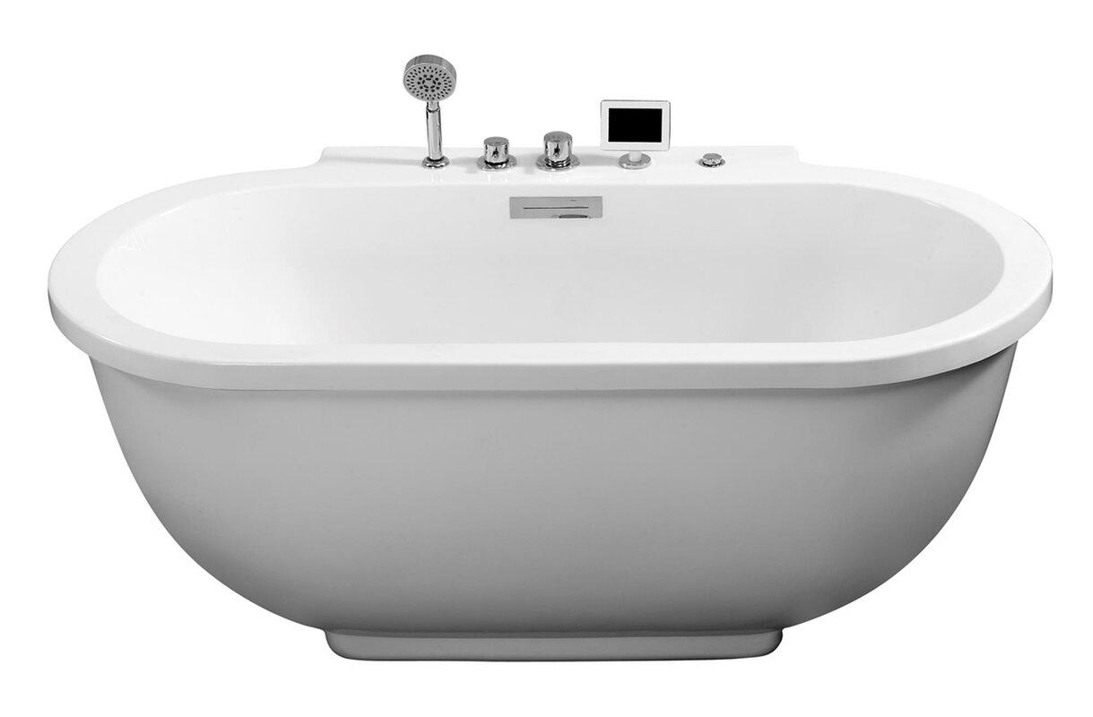 ariel bath 71 x 37 whirlpool bathtub reviews. Black Bedroom Furniture Sets. Home Design Ideas