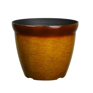 Round Yellow Planters You'll Love in 2019   Wayfair