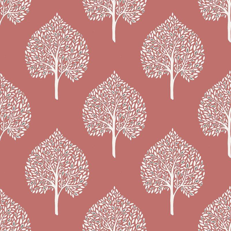Coral All Wallpaper | Wayfair