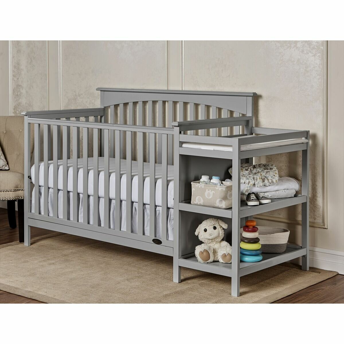 Dream On Me Chloe 5 In 1 Convertible Crib And Changer Combo Reviews Wayfair