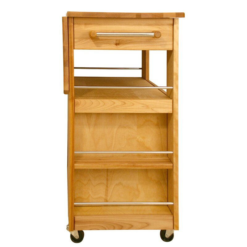 Catskill Craftsmen Kitchen Island With Wood Top Amp Reviews