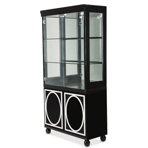 Sky Tower China Cabinet by Michael Amini (AICO)