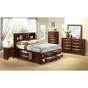 Emily Panel Configurable Bedroom Set