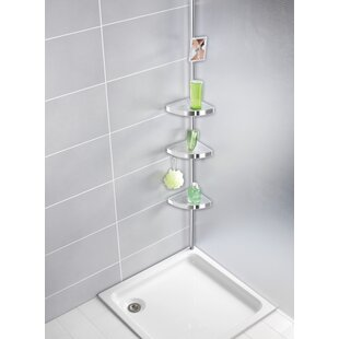 Aluminium Storage Rack Bathroom Shower Bath Holder For Shampoos Shower Gel Kitchen Home Balcony Shelf Hanging Rack Hook Bathroom Hardware