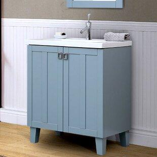 Navy Blue Bathroom Vanity | Wayfair