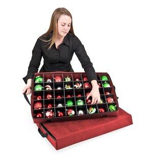 Santau0027s Bags Premium Christmas Ornament Storage