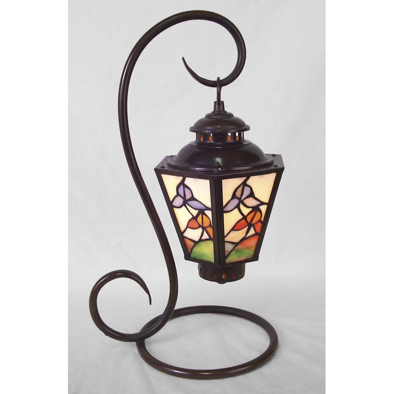 """AA Importing Tiffany Coach 17"""" Arched Table Lamp"""