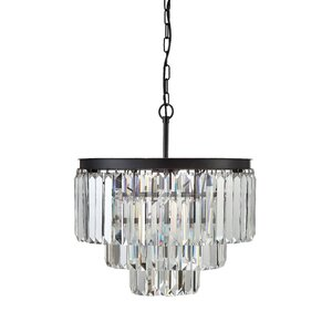 Uptown 9-Light Crystal Chandelier