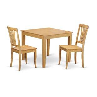 Oxford 3 Piece Dining Set