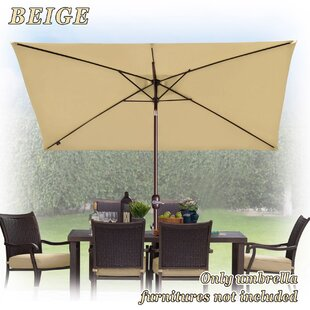 Free Standing Patio Umbrella | Wayfair