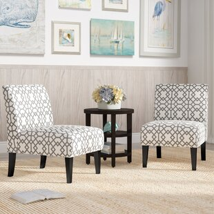 Charming Veranda Slipper Accent Chair (Set Of 2)