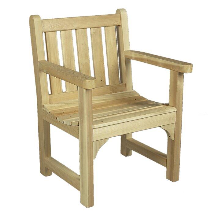 Exceptionnel English Garden Cedar Wood Adirondack Chair