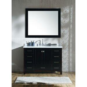 Marine 49 Single Bathroom Vanity Set with Mirror