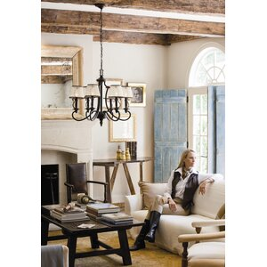 Plymouth 6-Light Candle-Style Chandelier