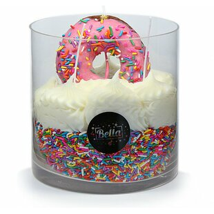 The Donuts Hole 72 Oz Strawberry And Vanilla Big Scented Candle