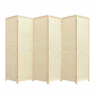 Walls Freestanding Bamboo Room Divider