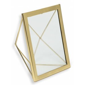 Geo Angles Metallic Picture Frame