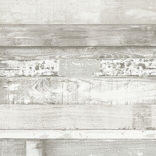 Wood & Shiplap Wallpaper You'll Love in 2019   Wayfair