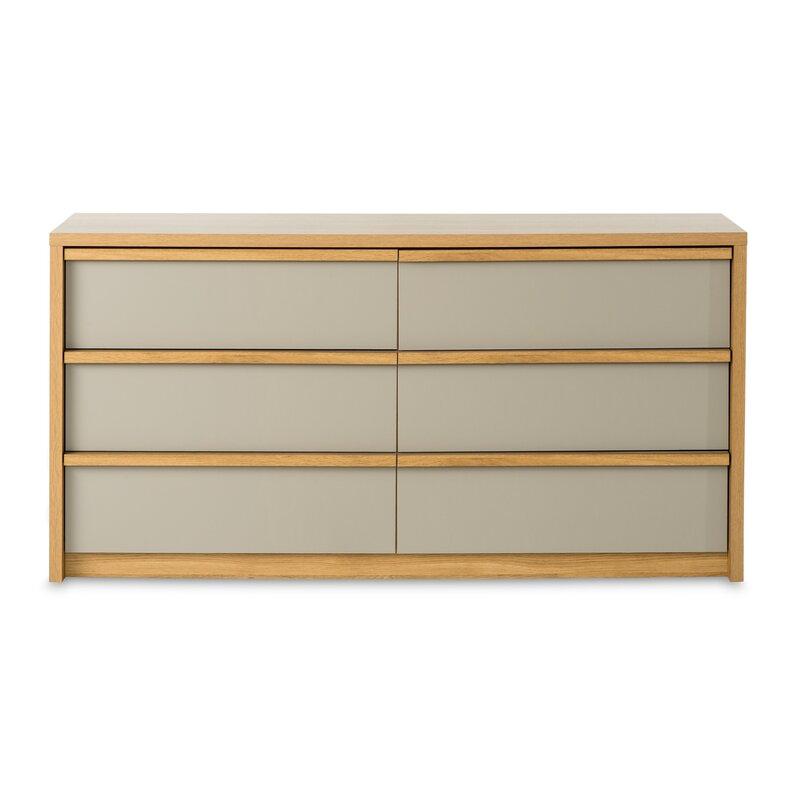 Child Craft Loft 6 Drawer Double Dresser