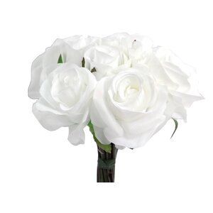 12 Stems Artificial Rose Bouquet