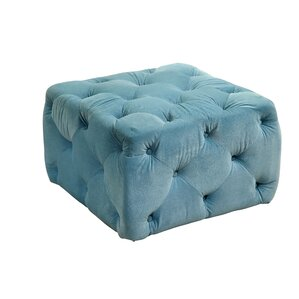 Blas Deep Tufted Ottoman by Willa Arlo Interiors