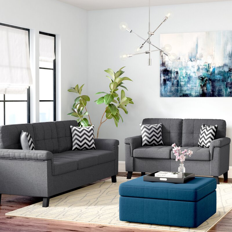 Whitmore 2 Piece Living Room Set