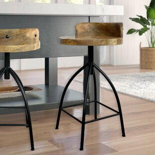 Furniture Trend Mark Solid Wood Bar Chair Leisure Creative High Stool Personality Bar Chair Modern Simple Backrest High Stool.
