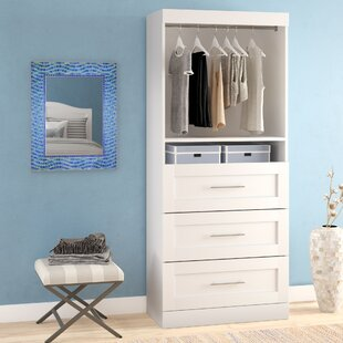 White Closet Drawers Unit | Wayfair